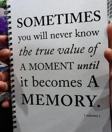 Aprender a vivir el momento hoy, ahora.
